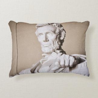 Lincoln Memorial in Washington DC Decorative Pillow