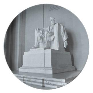 Lincoln Memorial in Washington DC Dinner Plates