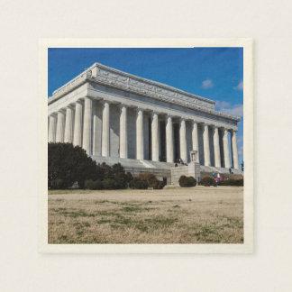 Lincoln Memorial in Washington DC Disposable Napkin