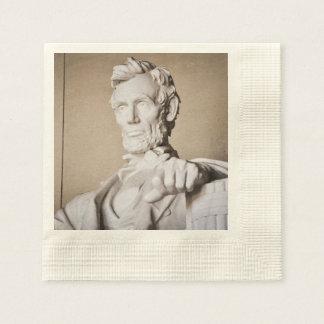 Lincoln Memorial in Washington DC Disposable Napkins