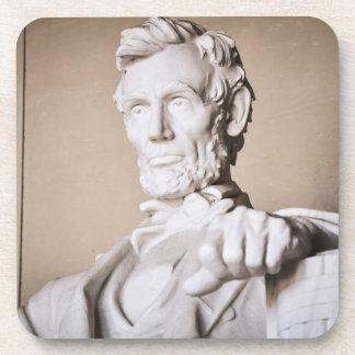 Lincoln Memorial in Washington DC Drink Coaster