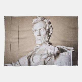 Lincoln Memorial in Washington DC Kitchen Towel