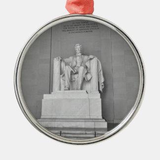 Lincoln Memorial in Washington DC Metal Ornament