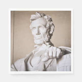Lincoln Memorial in Washington DC Paper Napkins