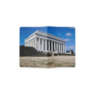 Lincoln Memorial in Washington DC Passport Holder