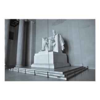 Lincoln Memorial in Washington DC Photo Print