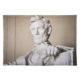 Lincoln Memorial in Washington DC Place Mat