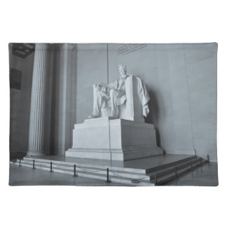 Lincoln Memorial in Washington DC Place Mats