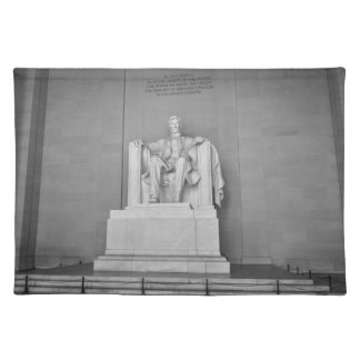 Lincoln Memorial in Washington DC Placemats