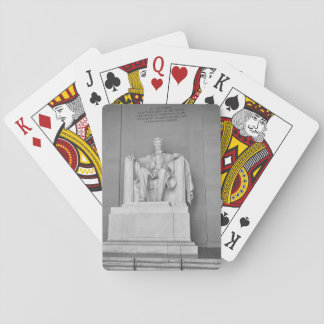Lincoln Memorial in Washington DC Playing Cards
