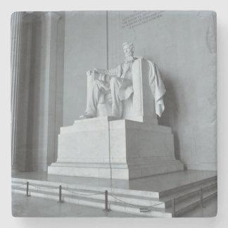 Lincoln Memorial in Washington DC Stone Beverage Coaster