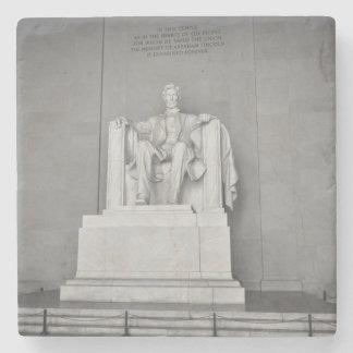 Lincoln Memorial in Washington DC Stone Coaster
