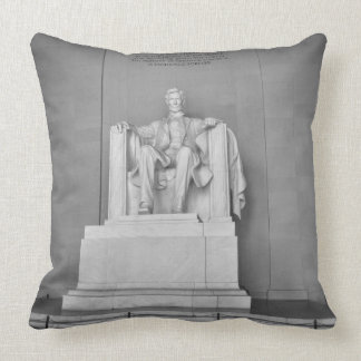 Lincoln Memorial in Washington DC Throw Pillow