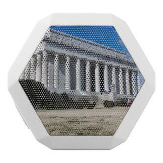 Lincoln Memorial in Washington DC White Bluetooth Speaker