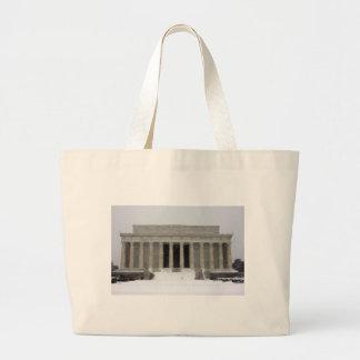Lincoln Memorial Large Tote Bag