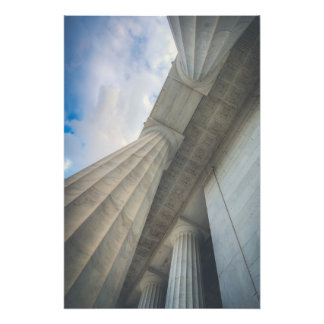 Lincoln Memorial Marble Photo Print