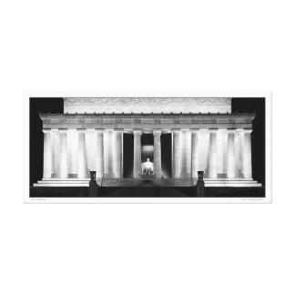 Lincoln Memorial- Panoramic Canvas Print
