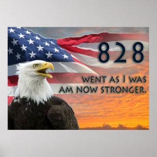 Lincoln Memorial Rally Washington 828 Poster