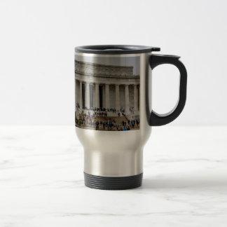 Lincoln Memorial Travel Mug