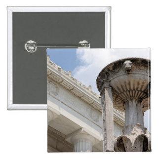 lincoln memorial washington monument pin