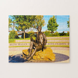 Lincoln Monument Kentucky. Jigsaw Puzzle