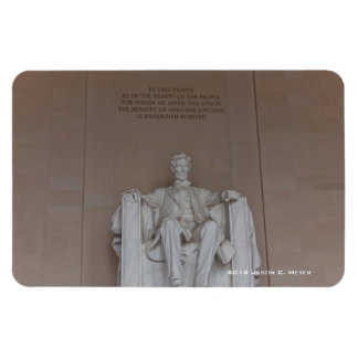 Lincoln Monument Magnet