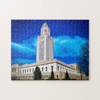 Lincoln Nebraska. Jigsaw Puzzle