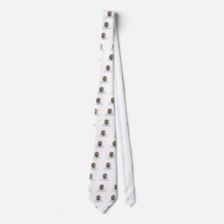 Lincoln Oval art Tie