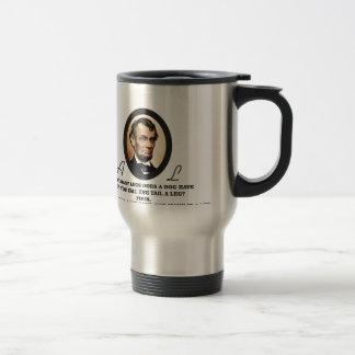 Lincoln Oval art Travel Mug