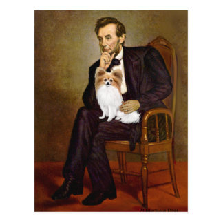 Lincoln - Papillon 4 Postcard