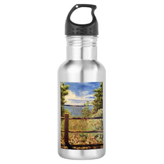 """Lincoln Park"" Stainless Steel Water Bottle"