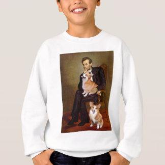 Lincoln - Pembroke Welsh Corgis (two) Sweatshirt