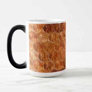Lincoln penny/pennies copper US coin, penny 2 Magic Mug