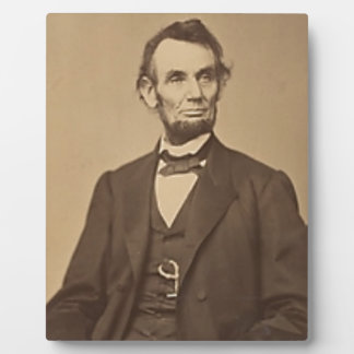 Lincoln Plaque