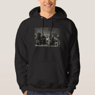 Lincoln Reading the Emancipation Proclamation Hoodie
