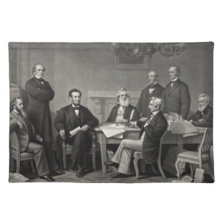 Lincoln Reading the Emancipation Proclamation Place Mats