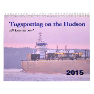 Lincoln Sea--Tugspotting on the Hudson Calendars