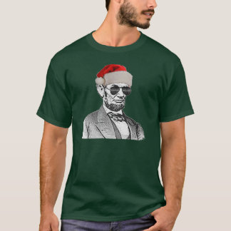 Lincoln Secret Santa T-shirt