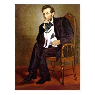 Lincoln -Smooth Fox Terrier 1 Postcard