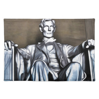 Lincoln Statue Place Mat