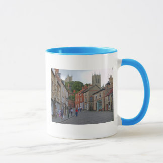 Lincoln Steep Hill & Cathedral Mug
