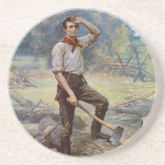 Lincoln the Rail Splitter by Jean L. Gerome Ferris Coaster