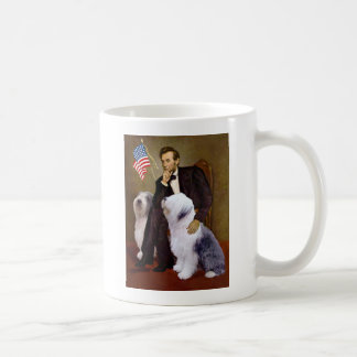 Lincoln - Two Old English Sheepdogs Coffee Mug
