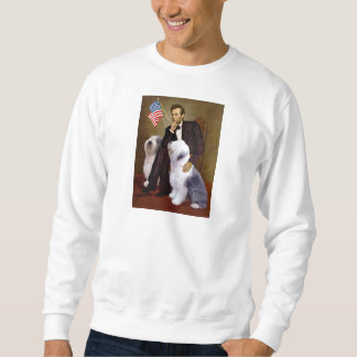 Lincoln - Two Old English Sheepdogs Sweatshirt