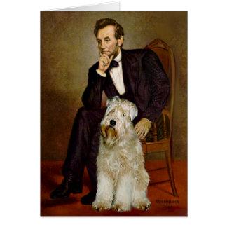 Lincoln - Wheaten Terrier 7 Card