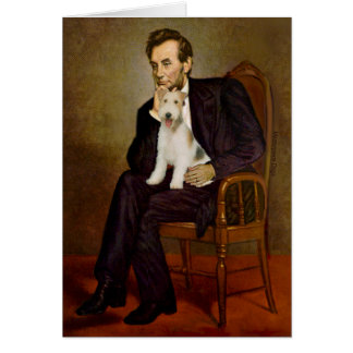 Lincoln - Wire Fox Terrier #1 Card