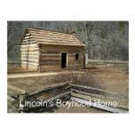 Lincoln's Boyhood Home, Knob Creek, KY Postcards
