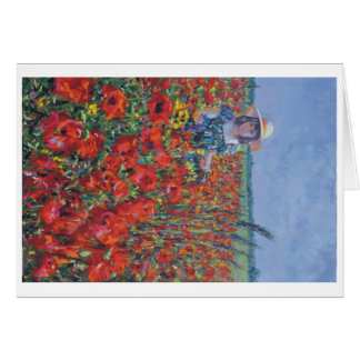 Lincolnshire poppy. card