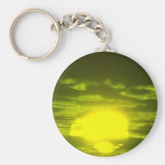 Lincolnshire Sunrise 7 Keychain