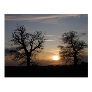 Lincolnshire Sunset Postcard